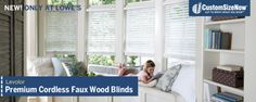 Levolor Faux Wood Cordless Blinds - the reveal! - daisy & june