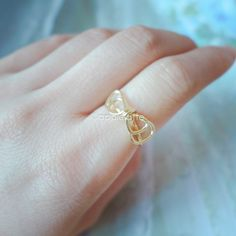 Hey, I found this really awesome Etsy listing at https://www.etsy.com/listing/164603755/cute-wire-bow-ring-in-gold-or-silver-bow