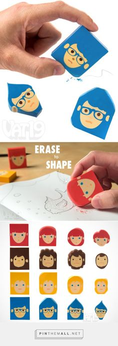 Barber Erasers: Craft a haircut as you erase