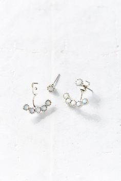 Vanity Ear Jacket Front/Back Earring