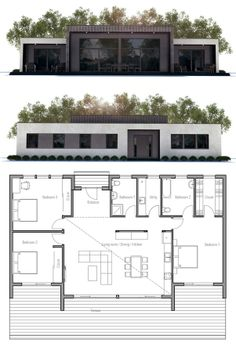 House Plan from ConceptHome.com, modern contemporary house