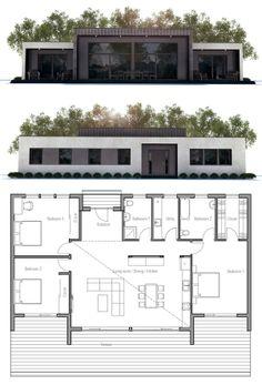 House Plan from ConceptHome.com, modern contemporary house