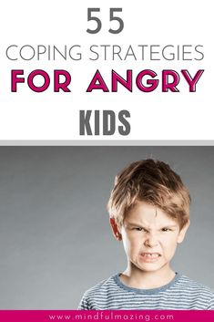 Are you wondering how to help an angry child calm down? Calming strategies for kids are tactics, tips, activities, worksheets and/or exercises aimed to help reduce kids BIG emotions and we've got 55 of them right here for you! Anger Management For Kids, Anger Management Activities, Behavior Management, Stress Management, Classroom Management, Dealing With Anger, Angry Child, Emotional Child, Mindfulness For Kids