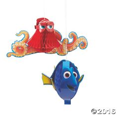 Finding+Dory+Honeycomb+Hanging+Decorations+-+OrientalTrading.com