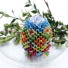origami YAYO z życzeniami :)