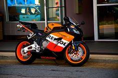 The Honda Bike made of Dreams, Fireblade Honda Fireblade, Honda Motorbikes, Honda Bikes, Cbr 600, V Rod, Sportbikes, Rally Car, Bike Life, Motogp