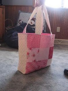 Grace's bag and doll clothes