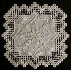 Bruce Wahl, Hardanger Embroidery #hardangerembroidery