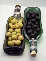 slumped glass bottles - Google Search