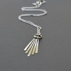Hey, I found this really awesome Etsy listing at https://www.etsy.com/listing/126811810/silver-sticks-necklace-sterling-silver