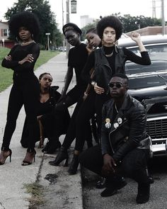 "The Black Panthers Party is paid homage in Isaac West's ""October 1966"" editorial series 
