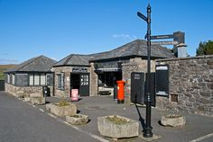 Jamaica inn dates from 1750, it had the shop open. Bodmin moor, Cornwall