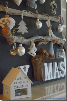 Chalkboard Wooden Christmas Tree