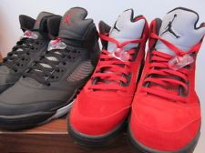 premium selection fe8ba 2d390 2009 Nike Air Jordan 5 V Raging Bull El Toro Bravo Pack Red Black 3M grey