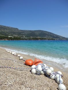 A lonely stretch of beach awaits you with Get Away Sailing in Croatia