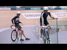 Samsung School of Rio – Cycling with Sir Bradley Wiggins & Becky James - YouTube