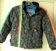 Obermeyer Waterproof Ski Snowboard Jacket Coat Kids Boys Size 7 | eBay