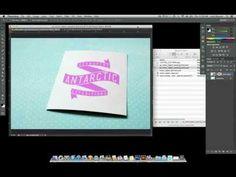 Photoshop Smart Object Warping Tutorial - YouTube