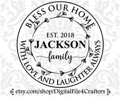 Monogram Wedding, Personalized Wedding, Personalized Items, Rose Stencil, Real Estate Gifts, Fine Porcelain, Family Love, Home Signs, Printed Materials