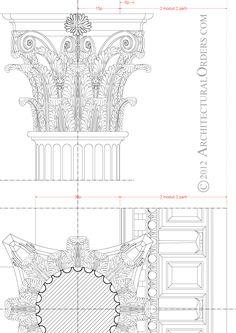 Corinthian Order: capital detail