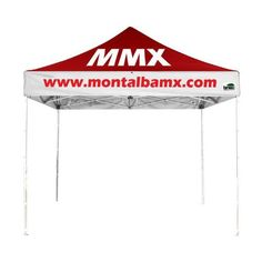 Eurmax Professional 10 By 10 Canopy Printing Custom Pop up Party Tent Event Gazebo with Your Logo and Canopy Wheeled Bag *** You can get additional details at the image link.