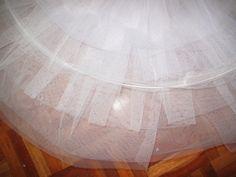 Tutorial para hacer un tutú de ballet de plato con aro.   Si Coppelia vistiera de Prada Tutu Pattern, Tutu Ballet, Dance Crafts, How To Make Tutu, Patterns, Sewing, Home Decor, Ballet Tutu, Vestidos