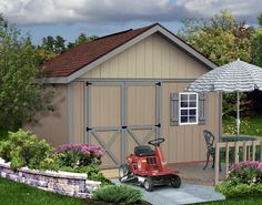 too much stuff and not enough room? build your own storage shed! #shedplans