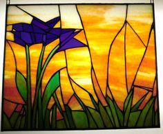 Flores de color púrpura en Sunset por heatherlynnstudios en Etsy                                                                                                                                                      Más