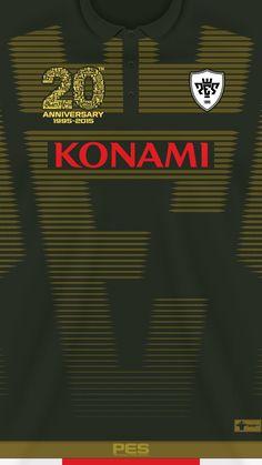Konami 20 aniversary kit PES 2016