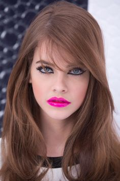 Barbara Palvin (Great Hair color. Soft brown with a hint of copper. Whatcha think Ray?)