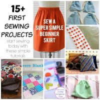 First Sewing Projects- get started sewing with Easy Projects