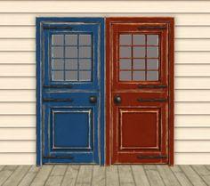 ModTheSims - Mirrored Seasons Door