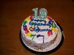 happy birthday cake 19 years