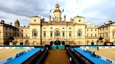 Beach volleyball will take over the historic Horse Guards Parade during the Olympics<3 gorgeous!
