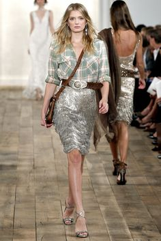 Ralph Lauren Spring 2011 Ready-to-Wear Fashion Show - Lily Donaldson