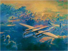 Heinkel He 219A-7 Uhu by Koike Shigeo