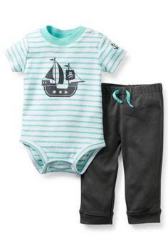 Carters  2-Piece Pirate Bodysuit and Pant Set