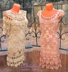 Parisienne dress in Vanessa Montoro style, Парижанка - вязаное платье крючком реплика Ванесса Монторо, crochet dress, crochet, dress, inspiration, lace, beautiful,