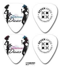 TBD official guitar pick from Seven Kings!
