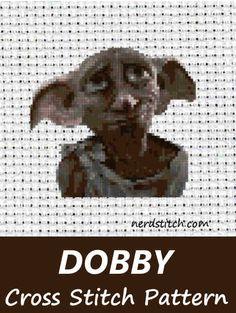 Dobby Cross Stitch Pattern - nerdstitch.com