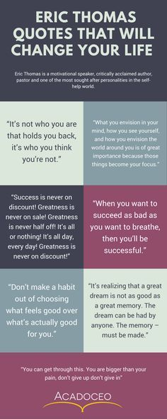 ERIC THOMAS QUOTES THAT WILL CHANGE YOUR LIFE #quotes #motivation