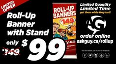 WOW! Our friends at AG Event Graphics are practically giving this deal away.