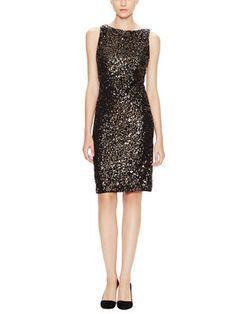 Kimber Sequin Sheath Dress