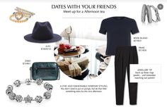 A datelook for a day with your girlfriends #PANDORAstyle #Valentinesday