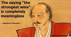musashi quotes - Google Search
