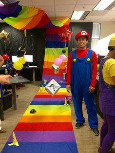 Mario Kart Rainbow Road Floor Theme Mario Kart