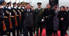Presidente Rafael Correa inicia su visita de Estado en Beijing