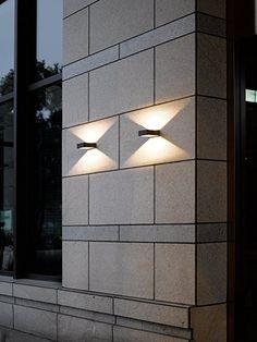 Unique Trio Leuchten LED Aussen Wandleuchte Reno in Aluminiumguss anthrazit Amazon