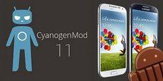 cyanogenMod 11 ( Android 4.4 kitkat ) di Galaxy S4