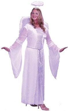 Angel White Plus Size Costume